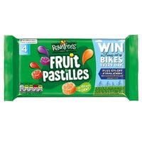 Rowntrees Fruit Pastilles Tube 4 Pack