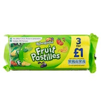 Rowntrees Fruit Pastilles 3 Pack