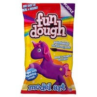 Fun Dough Model Art Purple