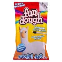 Fun Dough Model Art White
