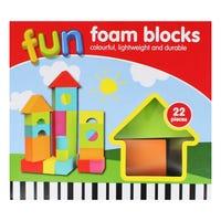 Fun Foam Blocks 22 Pack