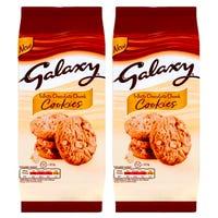 Galaxy White Chocolate Chunk Cookies 144g