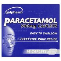 Galpharm's Paracetamol Caplets 16 Pack