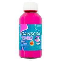 Gaviscon Double Action Heartburn Liquid Mint 300ml