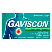 Gaviscon Peppermint Tablets 8 Pack