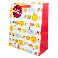 Luxury Extra Large Kids Animals Gift Bag