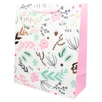 Luxury Ladies Extra Large Foliage Gift Bag