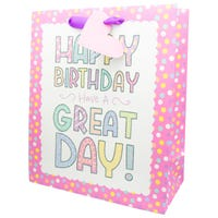 Luxury Ladies Extra Large Happy Birthday Gift Bag
