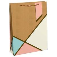 Geo Pastel Large Gift Bag