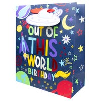 Luxury Extra Large Kids Out Of This World Gift Bag