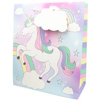 Luxury Extra Large Kids Unicorn Gift Bag