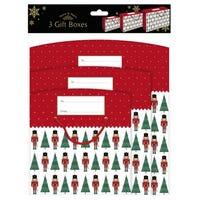 Harvey Mason Nutcracker Gift Boxes 3 Pack