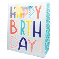 Luxury Extra Large Kids Happy Birthday Gift Bag