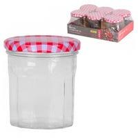 Glass Storage Jars 6 Pack