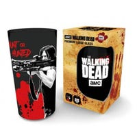 The Walking Dead Daryl Black Coloured Glass