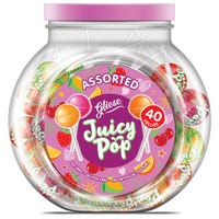 Gliese Juicy Pop Assorted Lollies 40 Pack