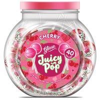 Gliese Juicy Pop Cherry Lollies 40 Pack