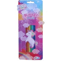 Glitter Coloured Pencils 8 Pack