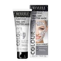 Revuele Peel Off Glitter Mask Silver