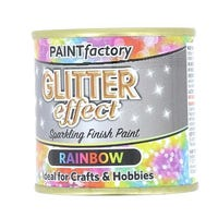 Glitter Effect Rainbow Sparkling Paint 125ml