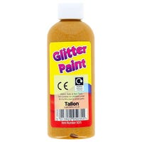 Glitter Paint in Gold 200ml