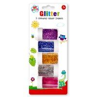 Glitter Shakers 5 Pack