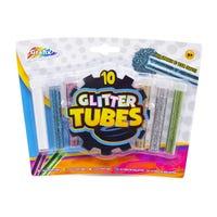 Grafix Glitter Tubes 10 Pack