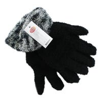 Gloves With Coloured Cuff