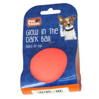 Glow In The Dark Pet Play Ball Assorted