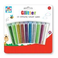 10 Glitter Tubes
