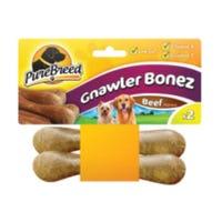 Mini Gnawler Bones Beef 2 Pack
