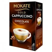 Mokate Gold Cappuccino Chocolate 8 Sachets