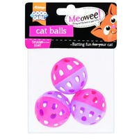 Good Girl Meowee Cat Balls Pack of 3