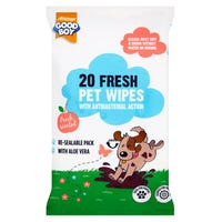 Good Boy Pet Wipes 20 Pack
