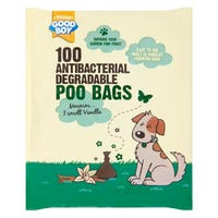 Good Boy Antibacterial Biodegradable Poo Bags 100 Pack