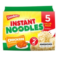 Goodwin's Instant Noodles Chicken 5 Pack