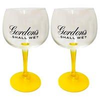 Gordon's Sicilian Lemon Gin Balloon Glass