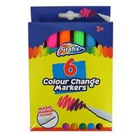 Grafix Colour Change Markers 6 Pack