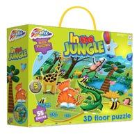 Graffix In The Jungle Floor Puzzle 3D