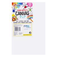 "Grafix Young Artists Canvas 5"" x 7"" 2 Pack"