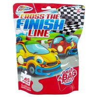 Grab Bag Puzzle in Cross the Finish Line 45 Piece