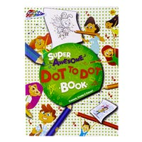 Grafix Super Awesome Dot to Dot Book 60 Pages