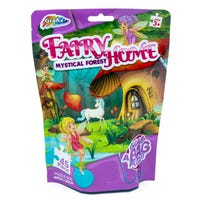 Grab Bag Puzzle in Fairy Home Mystical Forest 45 Piece