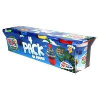Grafix Dough-Tastic Large Dough Tubs 4 Pack