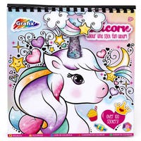 Grafix Unicorn Colour and Stick Fun Album