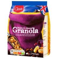 Grain Raisin and Almond Granola 500g