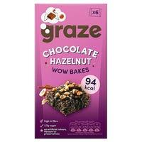 Graze Chocolate Hazelnut WOW Bakes 6 Pack