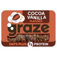 Graze Cocoa and Vanilla Protein Flapjack 53g