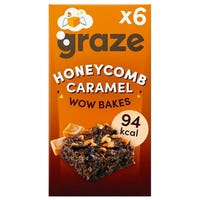 Graze Honeycomb Caramel WOW Bakes 6 Pack