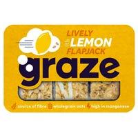Graze Lively Lemon Flapjack 53g